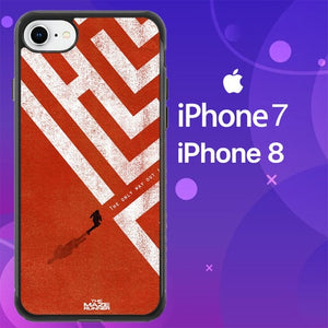 Custodia Cover iphone 7 8 The Maze Runner The Only Way Out is Within Z0695 Case