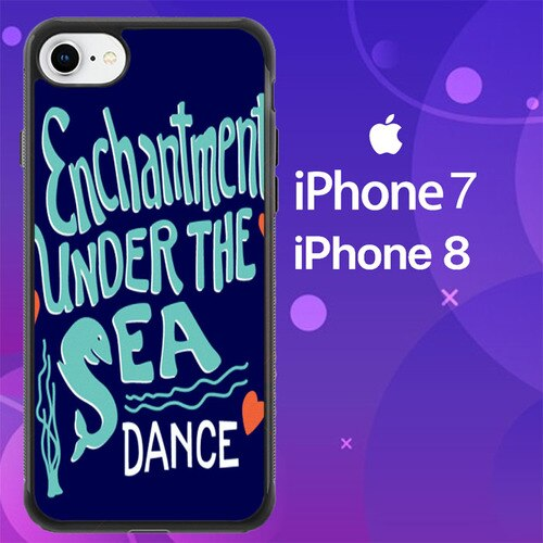 Custodia Cover iphone 7 8 Back to the Future Enchantment Under The Sea Dance Z0709 Case