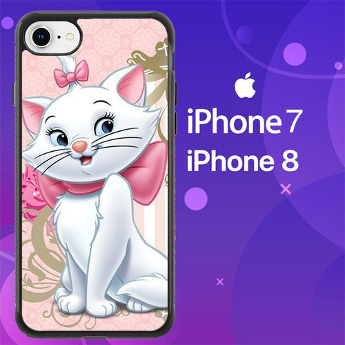 Custodia Cover iphone 7 8 Marie The Cat Z0727 Case