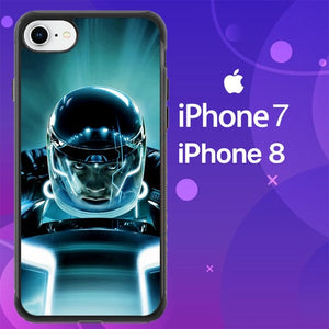 Custodia Cover iphone 7 8 Tron Legacy Movie Z0762 Case