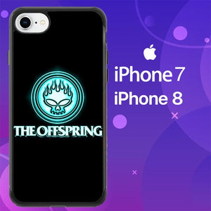 Custodia Cover iphone 7 8 The Offspring logo Z0787 Case