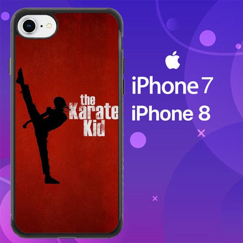 Custodia Cover iphone 7 8 The Karate Kid Z0794 Case