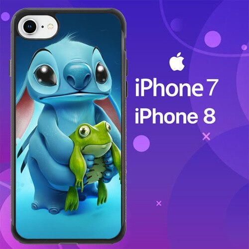 Custodia Cover iphone 7 8 STITCH AND FROG Z1009 Case