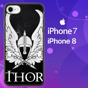 Custodia Cover iphone 7 8 thor friberg Z1666 Case