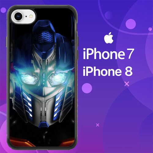 Custodia Cover iphone 7 8 Transformers Optimus Prime Z4232 Case