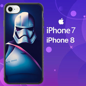 Custodia Cover iphone 7 8 Captain Phasma Star Wars Z4502 Case