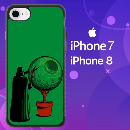 Custodia Cover iphone 7 8 Funny Star Wars darth vader Z4504 Case