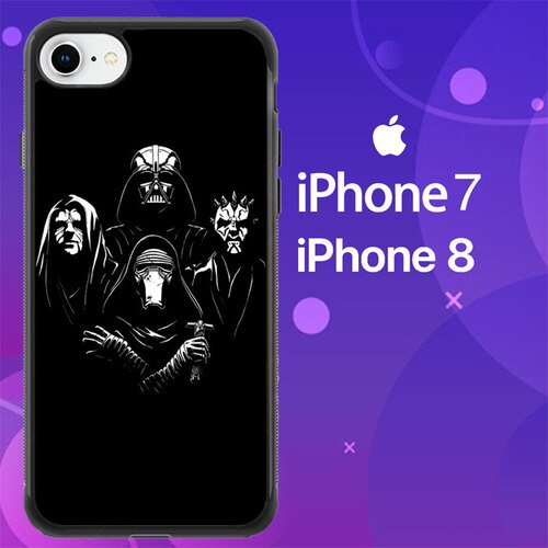 Custodia Cover iphone 7 8 Dark Star Wars Z4512 Case