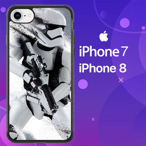 Custodia Cover iphone 7 8 Star Wars Stormtrooper Action Z4556 Case