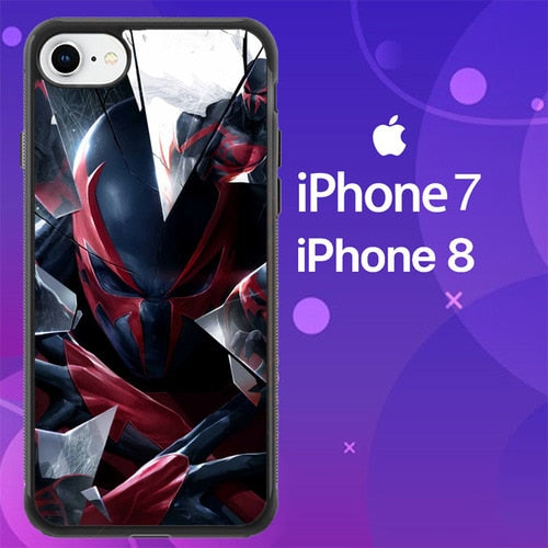 Custodia Cover iphone 7 8 Spiderman Scarlet Z4575 Case