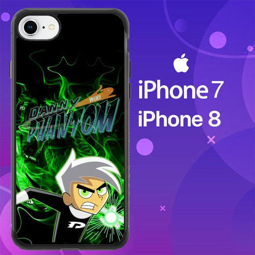 Custodia Cover iphone 7 8 Danny Phantom Z4612 Case