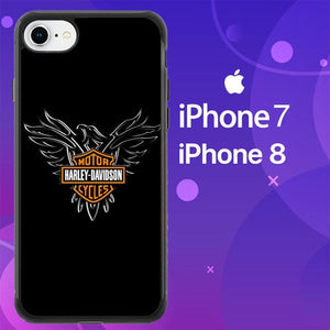Custodia Cover iphone 7 8 Harley Davidson Phoenix Z4793 Case