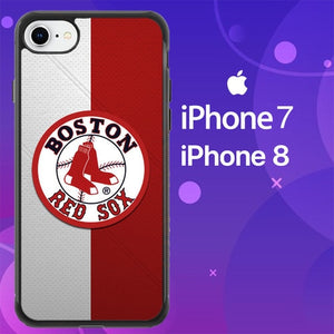 Custodia Cover iphone 7 8 Boston Red Sox Z4797 Case