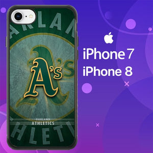 Custodia Cover iphone 7 8 oakland athletics Z5050 Case