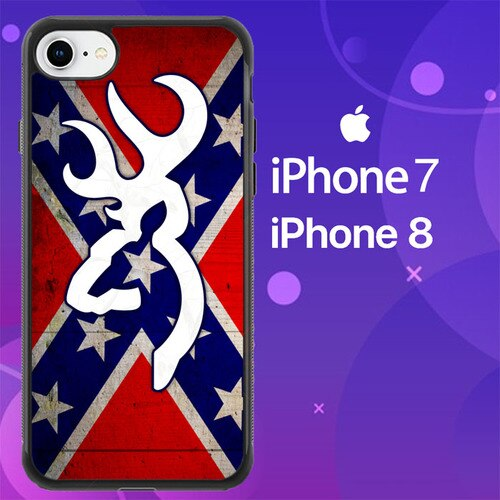 Custodia Cover iphone 7 8 Browning Logo Z5058 Case