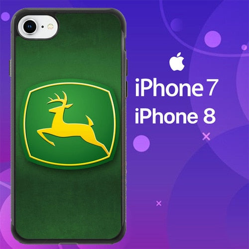 Custodia Cover iphone 7 8 John Deere Logo Z5077 Case