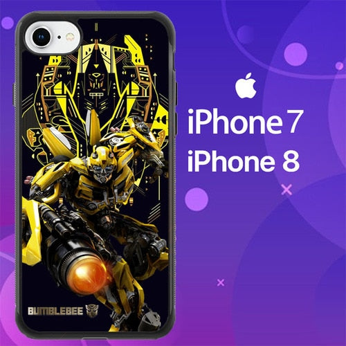 Custodia Cover iphone 7 8 bumblebee movie Z7080 Case