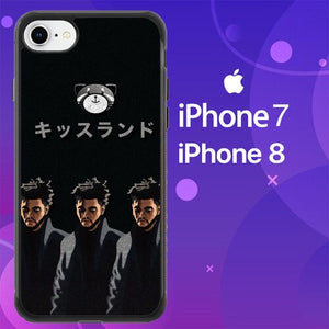 Custodia Cover iphone 7 8 the weeknd xo Z7162 Case