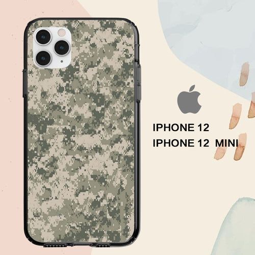 custodia cover iPhone 12 mini pro max case A5086 army wallpaper iphone 2vN3