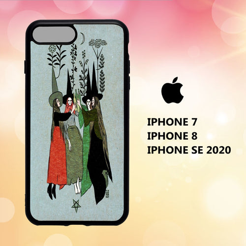 Custodia Cover iphone 5 6 7 8 plus x xs xr case A1099 wicca wallpaper 144wM1