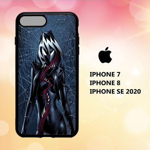 custodia cover iphone 5 6 7 8 plus x xs xr case B7840 spider gwen wallpaper 189aB3