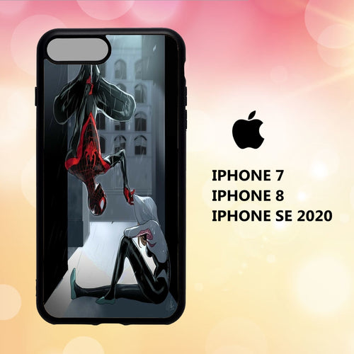 custodia cover iphone 5 6 7 8 plus x xs xr case R4110 spider gwen wallpaper 189tW8