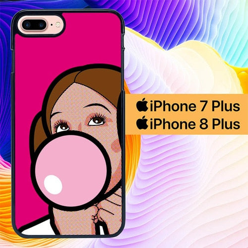 Custodia Cover iphone 7 plus 8 plus The Secret Life Herois L0001 Case