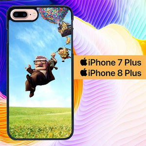 Custodia Cover iphone 7 plus 8 plus up pixar L0039a Case