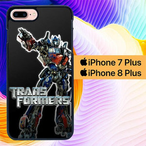 Custodia Cover iphone 7 plus 8 plus transformers L0097a Case