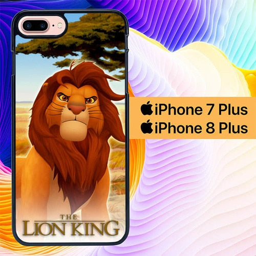 Custodia Cover iphone 7 plus 8 plus the lion king L0221a Case
