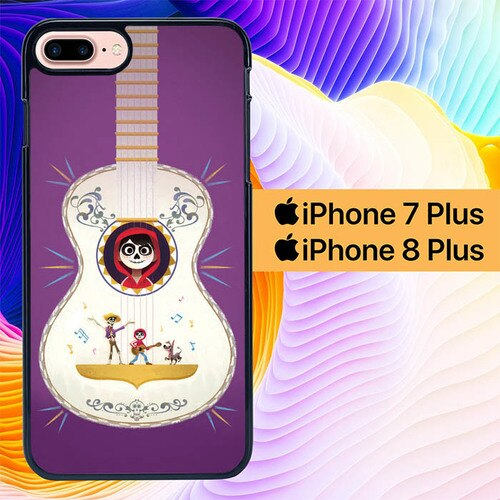 Custodia Cover iphone 7 plus 8 plus Coco Disney L0489 Case