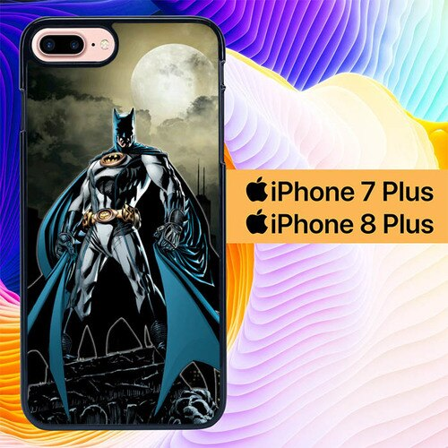 Custodia Cover iphone 7 plus 8 plus batman dark knight L0609 Case