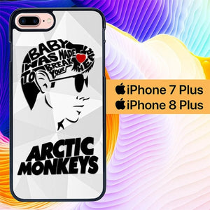 Custodia Cover iphone 7 plus 8 plus arctic monkeys alex turner L0995 Case