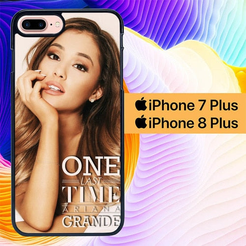Custodia Cover iphone 7 plus 8 plus ariana grande photo lyric L1007 Case