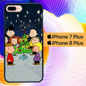 Custodia Cover iphone 7 plus 8 plus A Charlie Brown Christmas L1096 Case