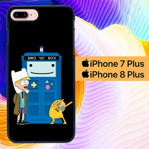 Custodia Cover iphone 7 plus 8 plus Adventure Time Doctor Who Gravity Falls L1121 Case