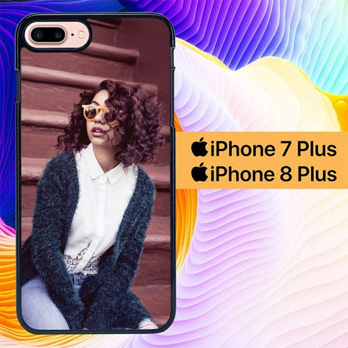 Custodia Cover iphone 7 plus 8 plus Alessia Cara Singer L1192 Case