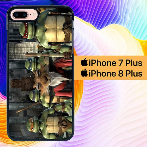Custodia Cover iphone 7 plus 8 plus Teenage Mutant Ninja Turtles Consecratory L1297 Case