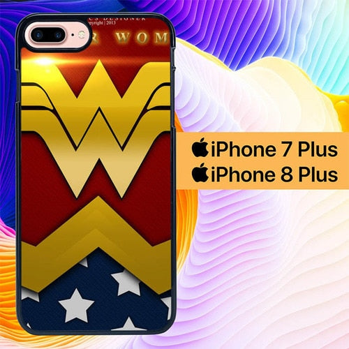 Custodia Cover iphone 7 plus 8 plus Wonder Woman L1610 Case