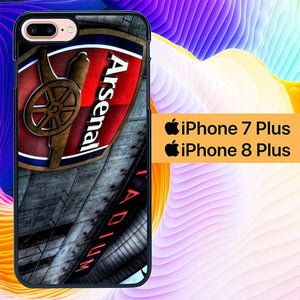 Custodia Cover iphone 7 plus 8 plus Arsenal Stadium L2027 Case