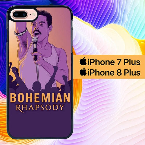 Custodia Cover iphone 7 plus 8 plus Bohemian Rhapsody Music L2767 Case