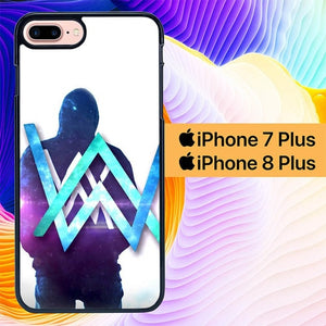 Custodia Cover iphone 7 plus 8 plus Alan Walker L2964 Case
