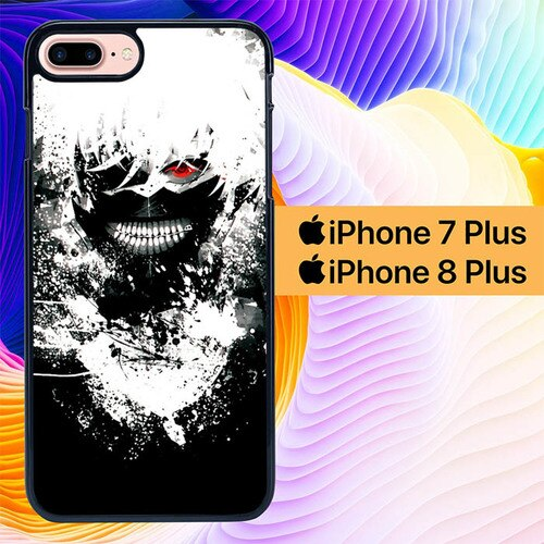 Custodia Cover iphone 7 plus 8 plus Tokyo Ghoul Scream L3020 Case