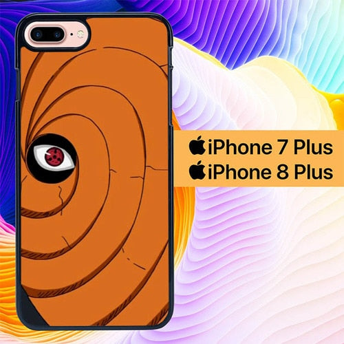 Custodia Cover iphone 7 plus 8 plus Toby Mask Naruto Hokage L3030 Case