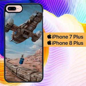 Custodia Cover iphone 7 plus 8 plus Time Job Firefly Tardis Doctor Who L3040 Case