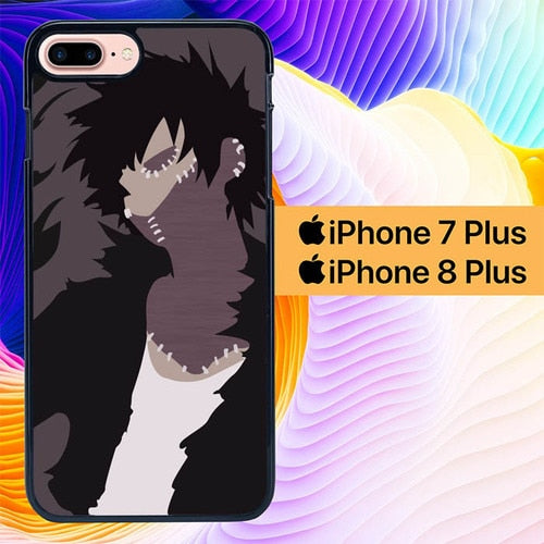 Custodia Cover iphone 7 plus 8 plus Boku no Hero Dabi L3048 Case