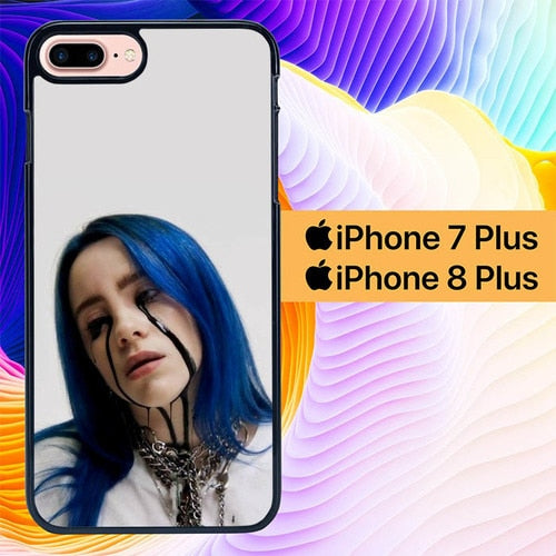 Custodia Cover iphone 7 plus 8 plus Billie Eilish L3099 Case