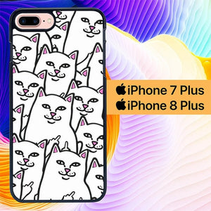Custodia Cover iphone 7 plus 8 plus Cat Ripndip L3105 Case