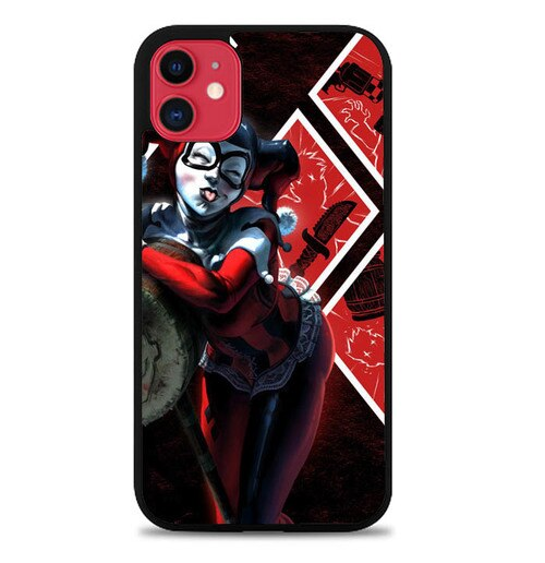 Custodia Cover iphone 11 pro max JOKER QUINN Y0572 Case