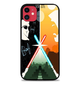 Custodia Cover iphone 11 pro max Star Wars Retro Poster Y0724 Case